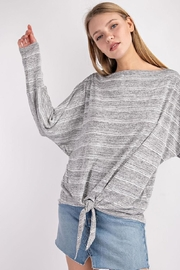 143 Story Front-Knot Detail Top - Front cropped
