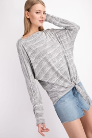 143 Story Front-Knot Detail Top - Side cropped