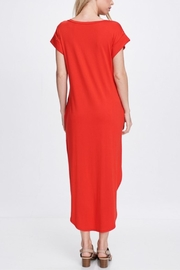 Jolie Front Knot Dress - Side cropped