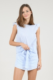 Molly Bracken Front Knot Tank Top - Product Mini Image