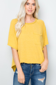 Zia Front Patch Pocket Top - Product Mini Image
