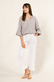 Grade & Gather  Front Pocket Gauze Pant - Product Mini Image