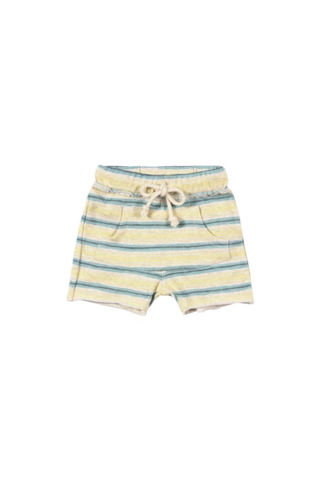 Paper Wings Front Pocket Trackie Shorts - Main Image