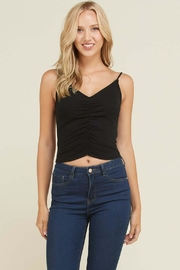 Heart & Hips Front Ruched Cami - Product Mini Image