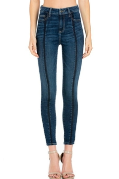 Cello Jeans Front-Seam Skinny Jeans - Product List Image