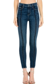 Cello Jeans Front-Seam Skinny Jeans - Product Mini Image