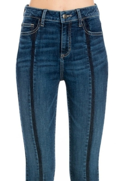 Cello Jeans Front-Seam Skinny Jeans - Alternate List Image