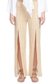 Elan Front Slit Pants - Product Mini Image