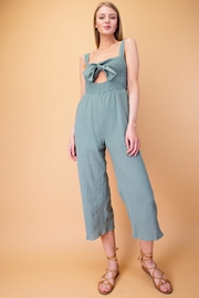 Le Lis Front Smocking Jumpsuit - Product Mini Image