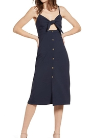 Bishop + Young Front-Tie Button-Up Dress - Product Mini Image