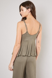 Mustard Seed Front-Tie Cami - Front full body