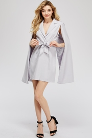 Blithe  Front-Tie Cape Dress - Product Mini Image
