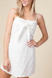 Honey Punch Front Tie Dress - Product Mini Image