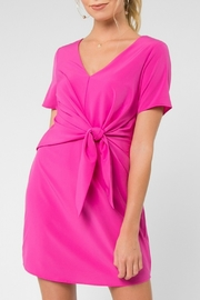 Everly Front Tie Dress - Product Mini Image