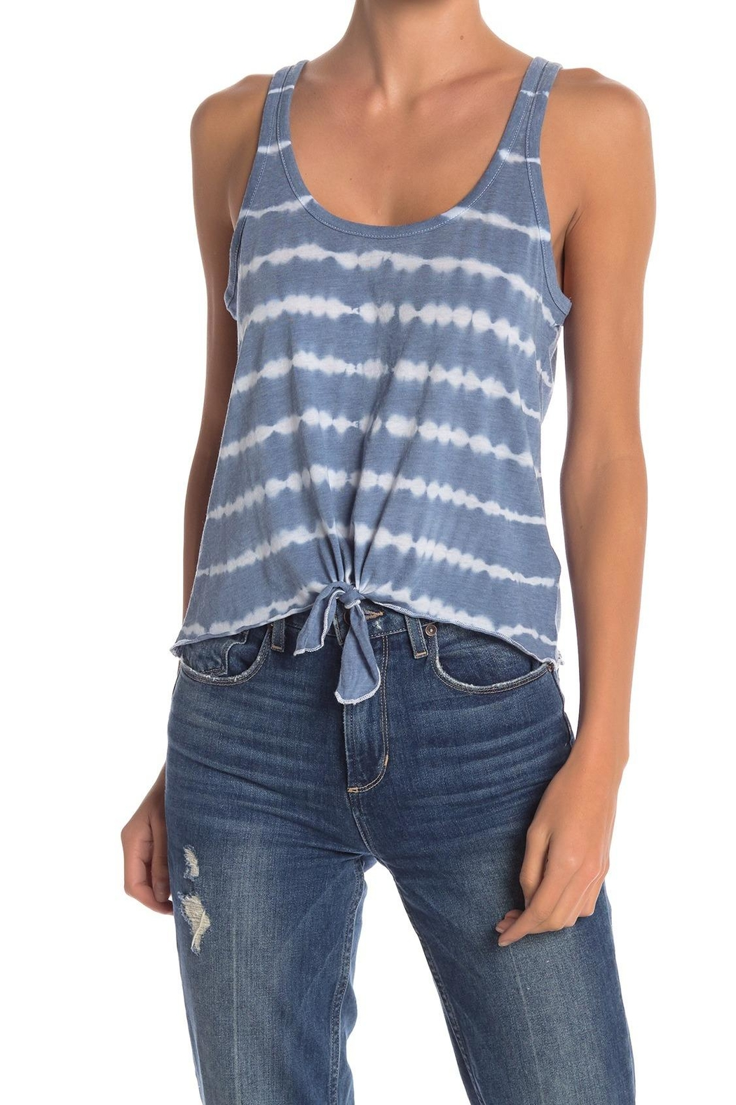 Chaser Front Tie-Dye Tank - Main Image
