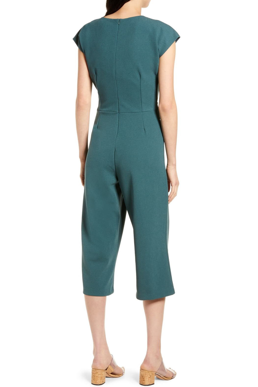 Bishop + Young Front Tie Jumpsuit - Front Full Image
