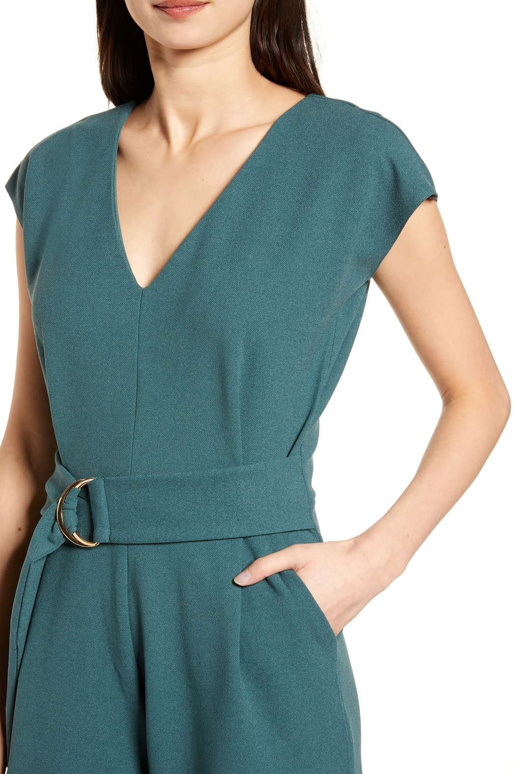 Bishop + Young Front Tie Jumpsuit - Side Cropped Image
