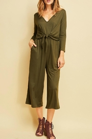 Entro Front Tie Jumpsuit - Product Mini Image
