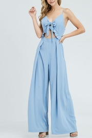 the clothing company Front Tie Jumpsuit - Product Mini Image