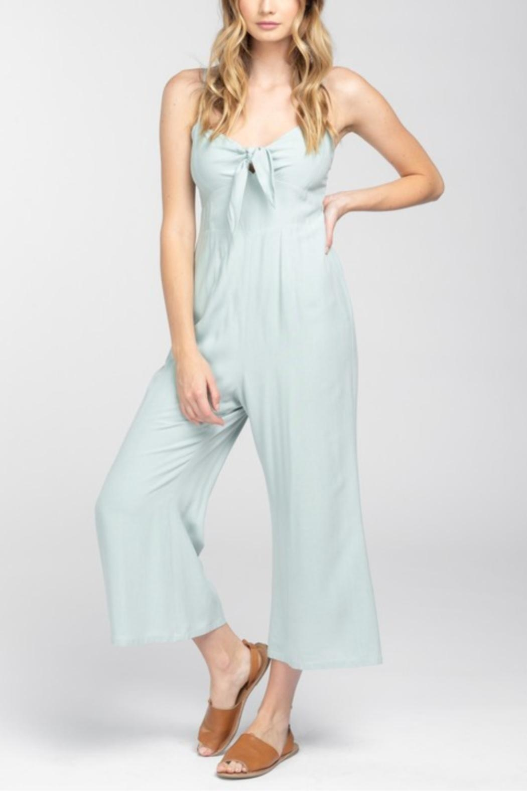 Everly Front Tie Jumpsuit - Main Image