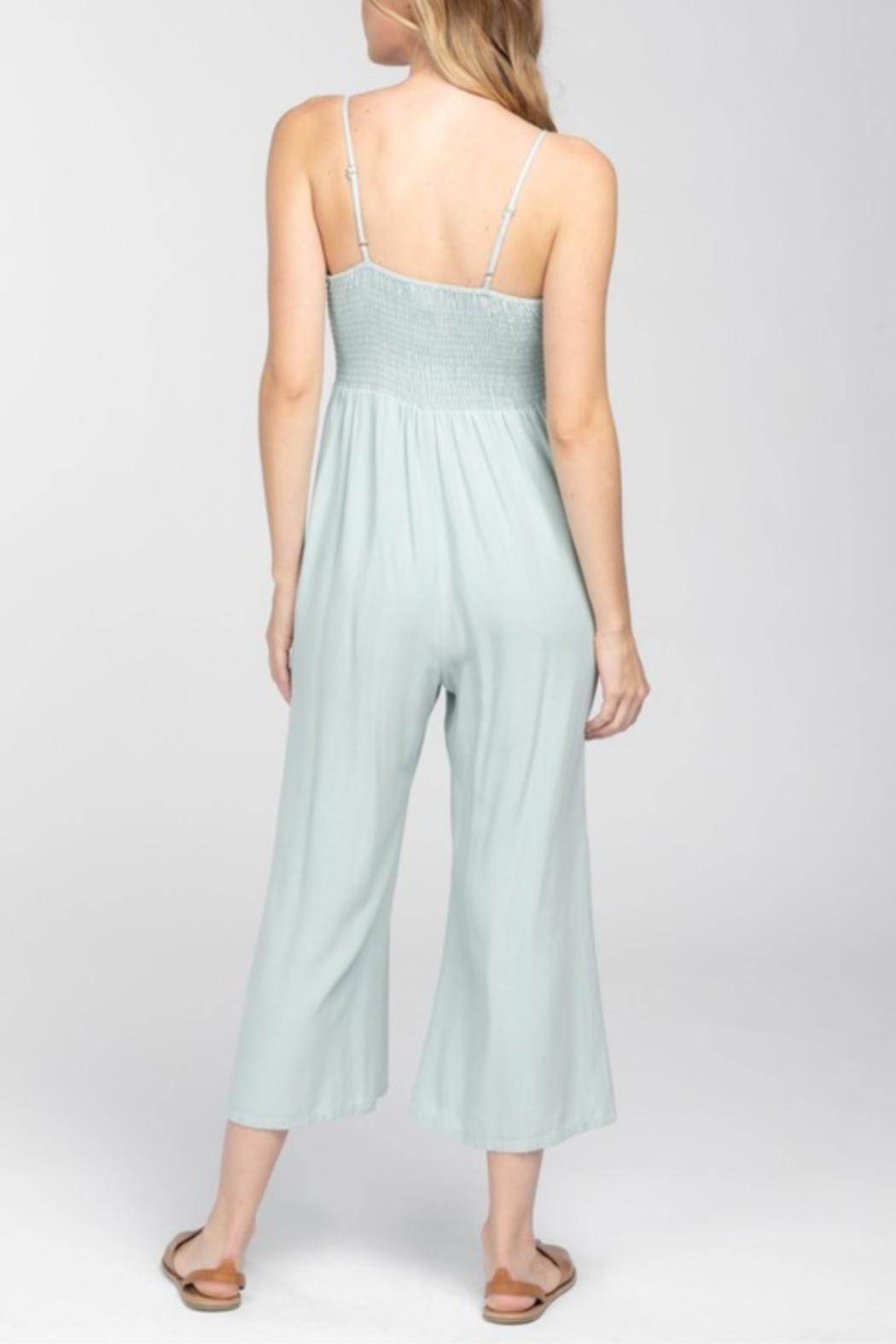 Everly Front Tie Jumpsuit - Front Full Image