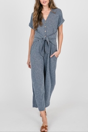 Hailey & Co Front Tie Jumsuit - Product Mini Image