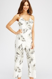 Gilli Front-Tie Leaf Jumpsuit - Front full body