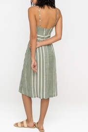 Lush Clothing  Front-Tie Midi Dress - Back cropped