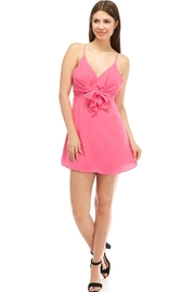 Do & Be Front-Tie Mini Dress - Product Mini Image