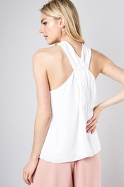 Do & Be Front-Tie Neck-Point Top - Product Mini Image