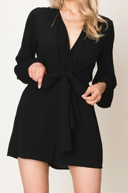 Made by Mila Front Tie Romper - Product Mini Image