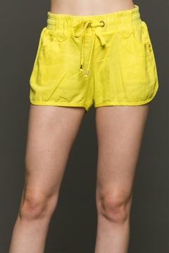 Love Tree Front Tie Shorts - Product List Image