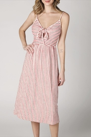 Hey  Front-Tie Striped Dress - Product Mini Image