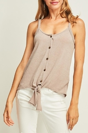Entro Front Tie Tank - Front cropped