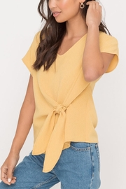 Lush Clothing  Front Tie Top - Product Mini Image