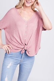 Mittoshop Front Tie Top - Product Mini Image