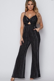 hot and delicious Front Twist Jumpsuit - Product Mini Image