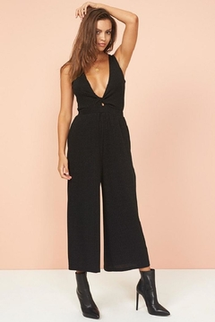 MinkPink Front Twist Jumpsuit - Product List Image