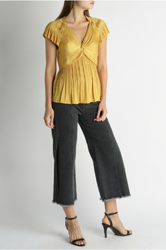 Current Air Front twist pleated top - Product List Image