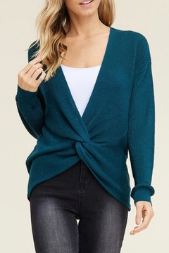 LuLu's Boutique Front Twist Sweater - Product List Image