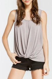 Cherish Front Twist Tank - Front cropped