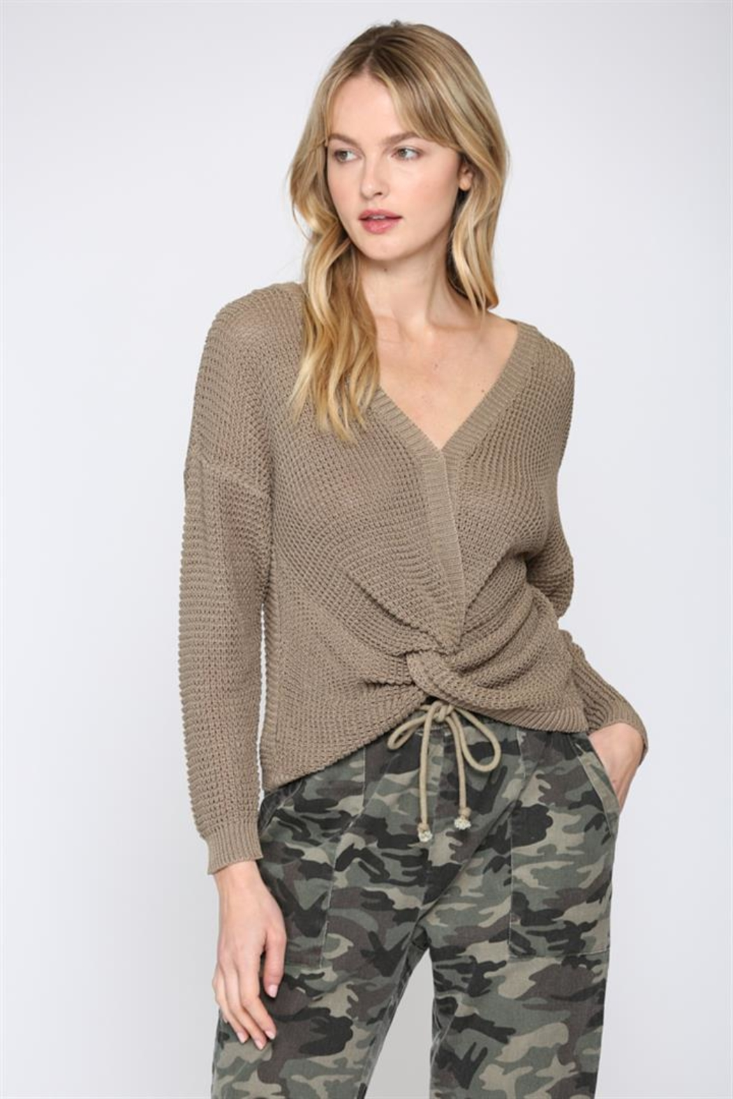 FATE by LFD Front twisted sweater - Main Image