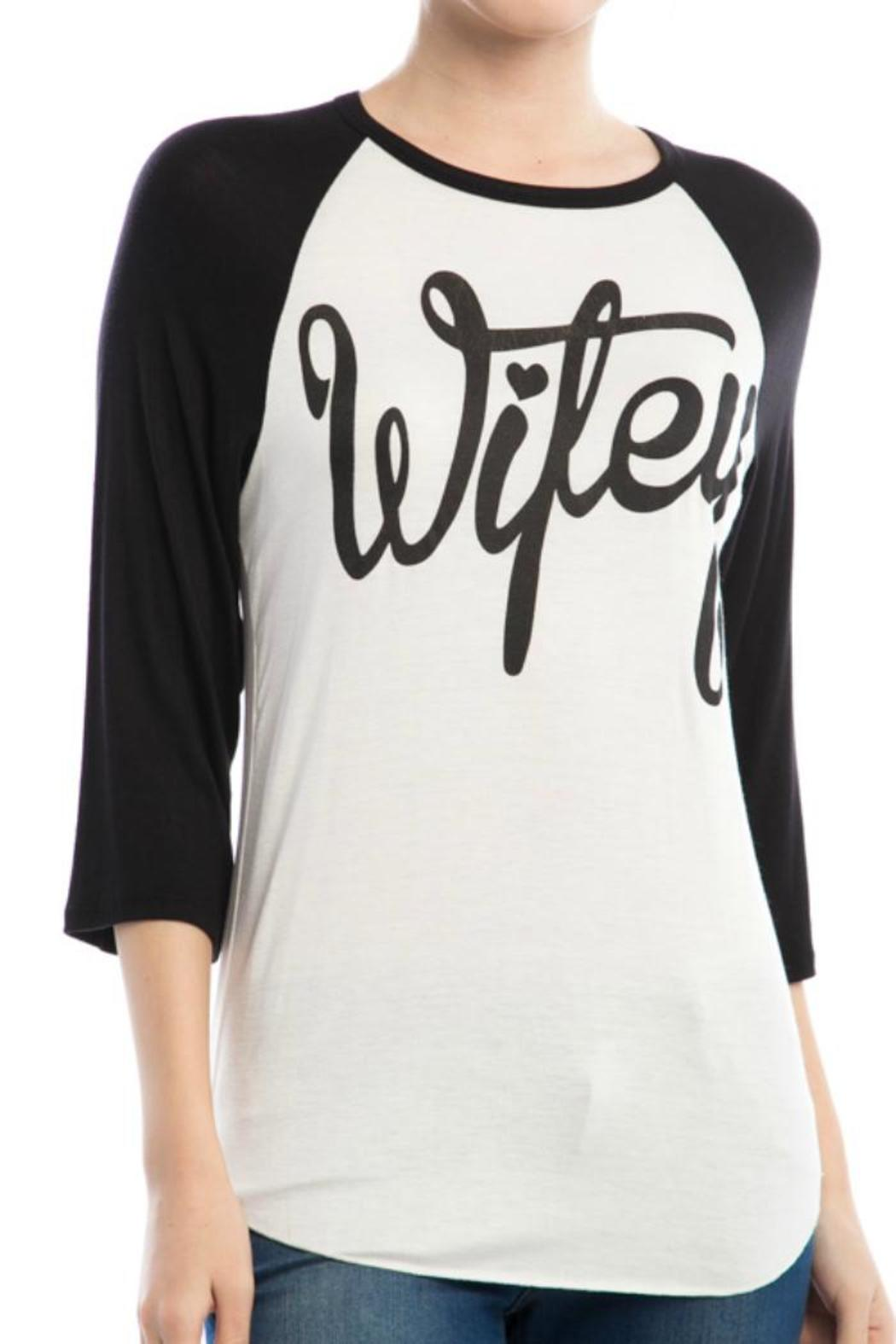f5d54172 Front Porch Boutique Wifey Baseball Tee from Missouri — Shoptiques