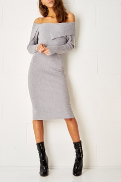 frontrow Bardot Midi Dress - Product List Image