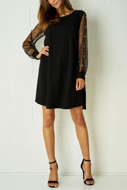 frontrow Black Embellished Dress - Front cropped