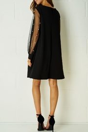 frontrow Black Embellished Dress - Front full body