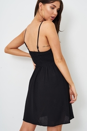 frontrow Black Knot-Detail Dress - Other