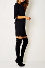 frontrow Black Dress - Front full body