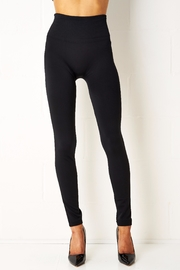 frontrow Black Thermal Leggings - Product Mini Image