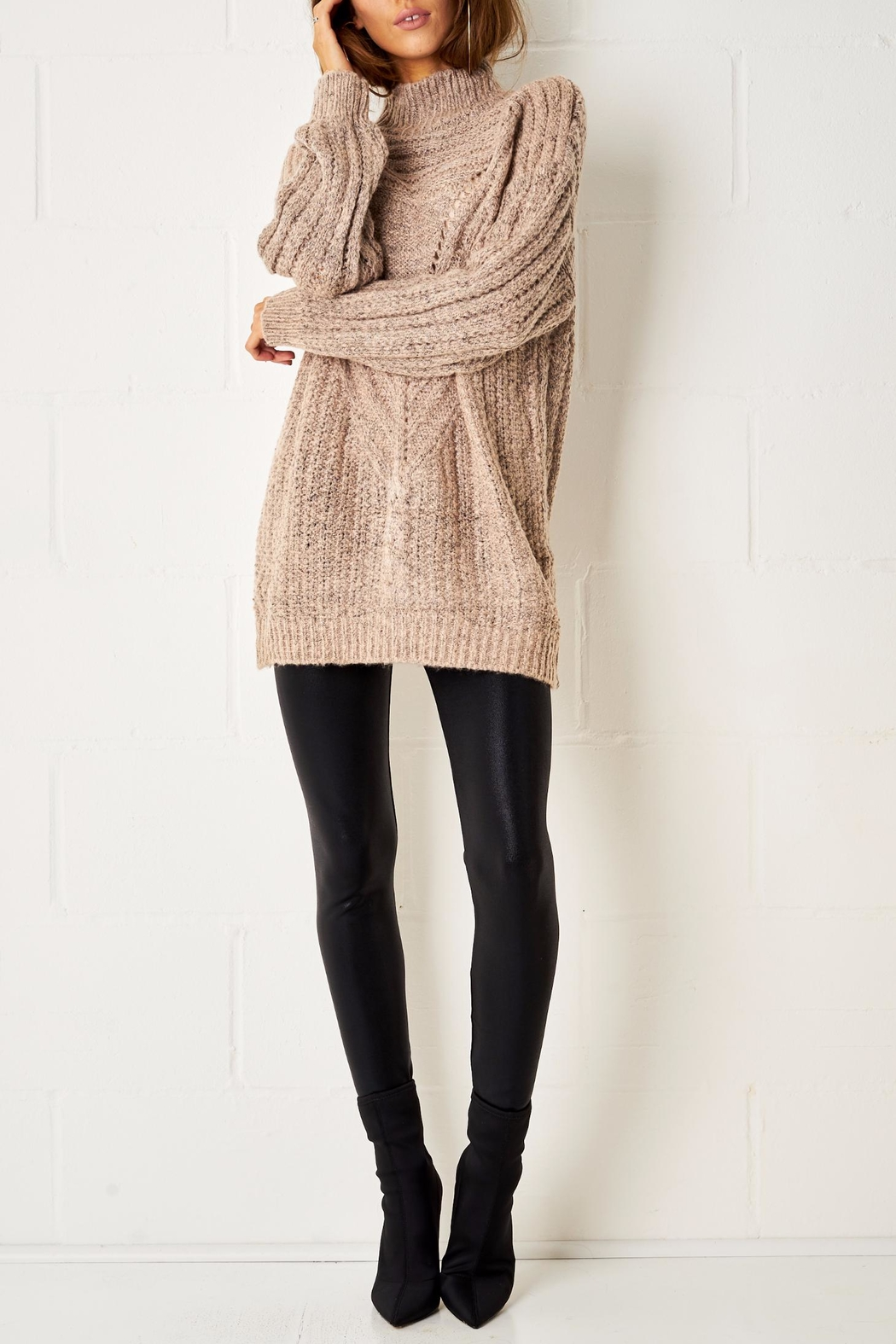 frontrow Cable Knit Jumper - Main Image
